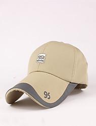 Hat Ultraviolet Resistant Unisex Baseball Summer White Red Black Blue Dark beige Dark Khaki-Sports®