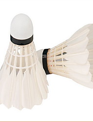 Badminton Feather Shuttlecocks High Strength High Elasticity Durable for Indoor Outdoor Performance Practise Leisure Sports Goose Feather