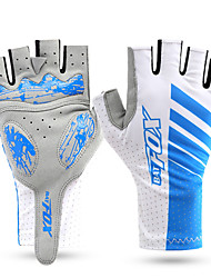 Sports Gloves Unisex Cycling Gloves Autumn/Fall Spring Summer Bike Gloves Quick Dry Wearable Breathable Wearproof Fingerless GlovesLycra