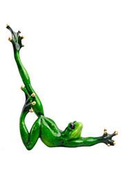 Modèle d'affichage Maquette & Jeu de Construction Jouets Nouveautés Grenouille Silikon Vert Pour Garçons Pour Filles