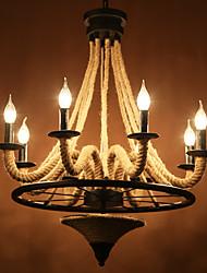 2 Lampe suspendue ,  Rustique Autres Fonctionnalité for LED Designers MétalSalle de séjour Salle à manger Bureau/Bureau de maison Entrée