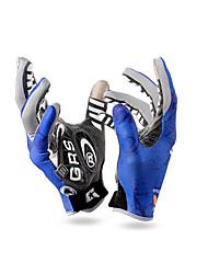 Gloves Sports Gloves Women's Men's Cycling Gloves Spring Autumn/Fall Bike Gloves Anti-skidding Breathable Full-finger Gloves EVA Yellow