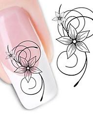 Water Transfer Printing  Fashion Pattern Nail Stickers
