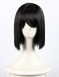 Your Name Miyamizu Mitsuha Black Straight Hair Anime Cosplay Wigs Wholesale Resale