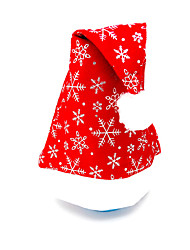 Christmas Dress Christmas Hat Velvet platband Hat Santa Hat 3Pcs