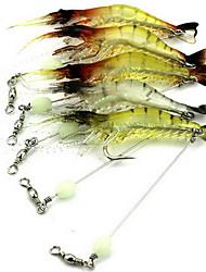 """1 pcs Leurre souple leurres de pêche Leurre souple g/Once mm/3"""" pouce,Plastique souple Pêche d'appât Pêche générale"""