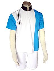 Inspiré par Prince of Tennis Cosplay Anime Costumes de cosplay Costumes Cosplay Couleur Pleine Manches Ajustées / Shorts Pour Masculin
