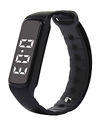 Smart Bracelet Long Standby Calories Burned Pedometers Sports Distance Tracking USB No Sim Card Slot