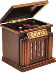 Music Box Music Creative Wood Brown For Boys / For Girls