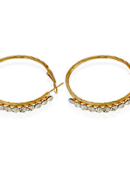 Earring Earrings Set Jewelry Women Wedding / Party / Casual Alloy / Rhinestone 1 pair As Per Picture