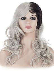 24women парик волос нового способа волнистая костюм рождества косплей партия