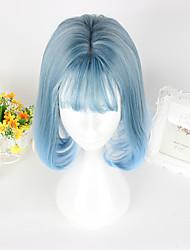 Amaloli Azul Piscina Lolita Peluca de Lolita  CM Pelucas de Cosplay Pelucas Para