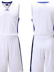 Муж. С короткими рукавами Баскетбол Бег Толстовка Верхняя часть Багги Шорты Дышащий Впитывает пот и влагу Удобный