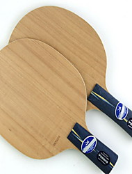 Table Tennis Rackets Ping Pang Wood Long Handle No Indoor-#