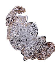 plaqué argent des femmes douces bracelet manchette (1 pc)