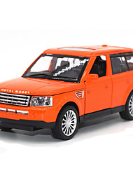Educational Toy Model & Building Toy Car Metal Orange For Boys / For Girls