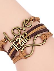 Bracelet Bracelets Rigides Alliage Amour Fait à la main Anniversaire / Quotidien Bijoux Cadeau Kaki,1pc