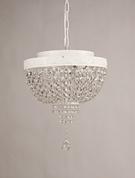 40w Pendant Light ,  Modern/Contemporary Painting Feature for Crystal / Designers MetalLiving Room / Bedroom / Dining Room / Study
