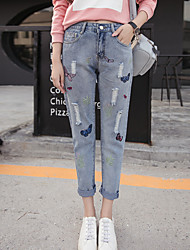определить реальный выстрел в осень песня halun широкие брюки талии отверстие был тонкий большой размер девяти точек джинсы просящих штаны
