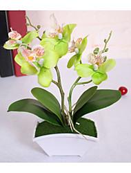 Полиэстер / PU Орхидеи Искусственные Цветы