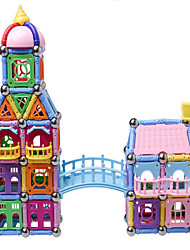 Educational Toy For Gift  Building Blocks Model & Building Toy Architecture Plastic 2 to 4 Years / 5 to 7 Years / 8 to 13 YearsBlue /