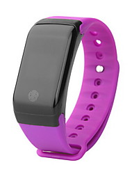 Smart BraceletWater Resistant/Waterproof / Long Standby / Pedometers / Health Care / Sports / Camera / Heart Rate Monitor / Touch Screen