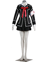 Inspirado por Vampire Knight Cosplay Animé Disfraces de cosplay Trajes Cosplay Un Color Abrigo Camisas Falda Corbata Para Mujer