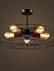 40w Flush Mount ,  Country Painting Feature for LED Metal Bedroom / Kitchen / Entry / Hallway / Garage