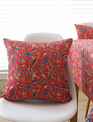 1 pc Cotton Pillow CaseFloral Traditional/Classic / Traditional