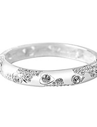 Bracelet Bangles Alloy Others Personalized Birthday / Gift / Wedding / Party / Daily / Casual Jewelry Gift White,1pc