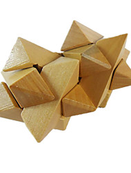 Assemblage & Dextérité Kong Ming verrouillage Jouets Nouveaux Jouets Triangle Bois Kaki Pour Garçons Pour Filles5 à 7 ans 8 à 13 ans 14