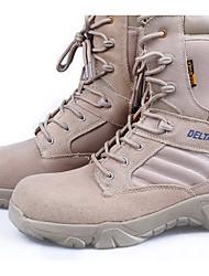 Sneakers Hiking Shoes Men's Anti-Slip Wearproof Ultra Light (UL) Outdoor PVC Leather Rubber Leisure Sports