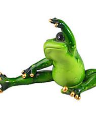 Дисплей Модель Модели и конструкторы Игрушки Лягушка силиконовый Зеленый