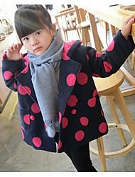 Menina Terno & Blazer Casual Inverno Manga Longa