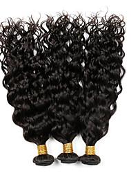 Tissages de cheveux humains Cheveux Vietnamiens Ondulation 12 mois 3 Pièces tissages de cheveux