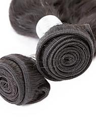 Tissages de cheveux humains Cheveux Vietnamiens Ondulation Naturelle 6 Mois 3 Pièces tissages de cheveux