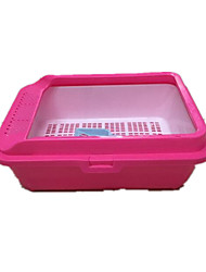 Cat Cleaning Baths Pet Grooming Supplies Portable Pink Plastic