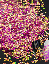 Fish Dragon Scales Sequins Laser Nail Decorations