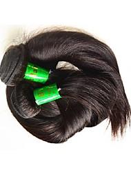 Индийский Реми волосы Пряди натуральных волос Реми Прямые Натуральные волосы Реми