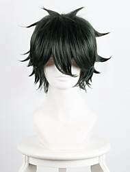 Zheng Zongjun's Revenge True Bunzheng green mixed black cosplay anti-Alice high temperature wire wig