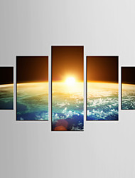 Canvas Set Famous Landscape Modern Classic,Five Panels Canvas Any Shape Print Wall Decor For Home Decoration