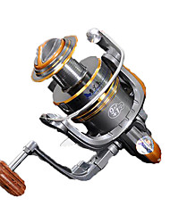 Fishing Reel Spinning Reels 5.2:1 10 Ball Bearings Exchangable General Fishing-HYD2000