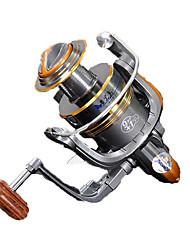 Molinetes de Pesca Molinetes Rotativos 5.2:1 10 Rolamentos Trocável Pesca Geral-HYD2000