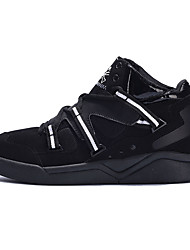 Men's Sneakers Fall Other Other Animal Skin Outdoor Low Heel Lace-up Black Black/Blue Black/Red Walking