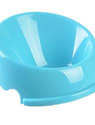 Chat Chien Bols & Bouteilles d'eau Animaux de Compagnie Bols & alimentation Portable Pliable Vert Bleu Rose Silicone