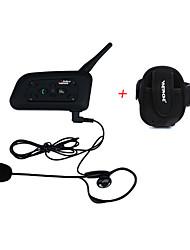 1200m moto étanche casque interphone full duplex bluetooth intercom casque V6C avec brassard arbitre casque intercom comunication