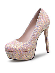 Women's Heels Spring Summer Fall Winter Other Synthetic Wedding Party & Evening Dress Stiletto Heel Sequin Pink Red White