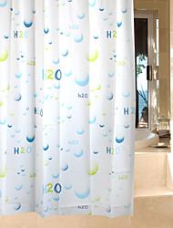 Неоклассицизм PEVA 180 * 180  -  Высокое качество Шторка для ванной