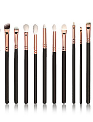 12 Contour Brush / Eyeshadow Brush / Lip Brush / Brow Brush / Eyeliner Brush / Liquid Eyeliner Brush / Concealer BrushNylon / Synthetic