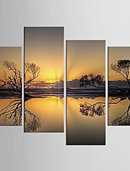 Холст Set Известные картины Абстрактные портреты Modern Пастораль,4 панели Холст Любая форма Печать Искусство Декор стены For Украшение